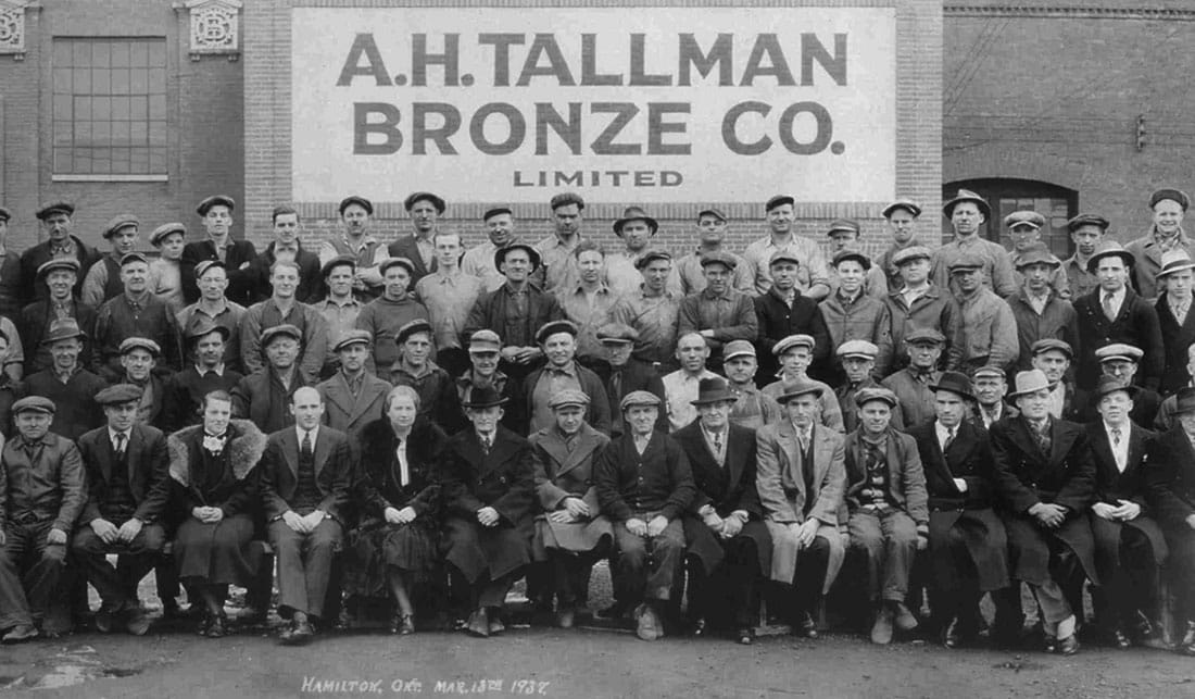 A.H. Tallman Bronze Co. Limited 1937
